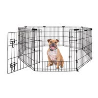 Yours Drooly Exercise Pen with Door - 30in