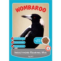 Wombaroo Insectivore Rearing Mix Bird Food - 1kg
