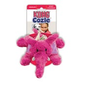 KONG Cozie Elmer Elephant Dog Toy - Medium
