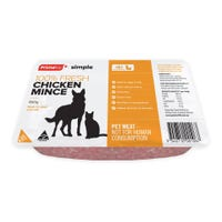 Prime Chicken Mince Fresh Dog Food - 800g