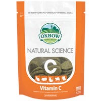 Oxbow Natural Science Vitamin C Supplement Small Animal Treats - 60pk