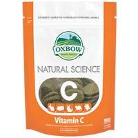 Oxbow Natural Science Vitamin C Supplement Small Animal Treats - 60pk