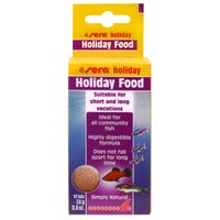 Sera Holiday Food Fish Food - 10 Tablets