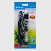 Marina Heater 25w Aquarium Heater - 15cm