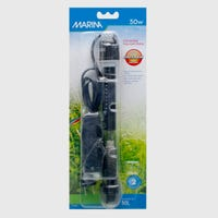 Marina Heater 50w Aquarium Heater - 15cm