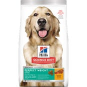Hill's Science Diet Adult Dog Perfect Weight Chicken Dog Dry Food - 1.8kg