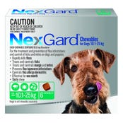 Nexgard Dog Flea And Tick Chews 10-25kg - 6pk