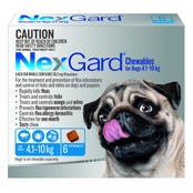 Nexgard Dog Flea And Tick Chews 4-10kg - 6pk