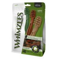 Whimzees Star Toothbrush Dog Treats XSmall - 48pk