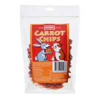 Peters Carrot Chips Small Animal Treats - 200g