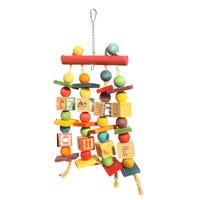 Bon Avi Blocks N Balls Bird Toy - Each