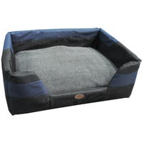 Bono Fido Stay Dry Blue Dog Bed - Large