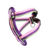 EzyDog Chest Plate Harness Bubblegum Dog Harness - Medium