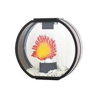 Blue Planet Deco-O Aquarium Black Fish Tank - 10L