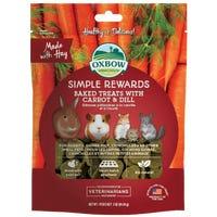 Oxbow Baked Treat Carrot and Dill Small Animal Treats - 85g