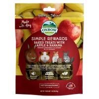 Oxbow Baked Treat Apple and Banana Small Animal Treats - 85g