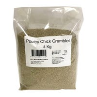 Peters Poultry Chicken Crumble Bird Food - 4kg