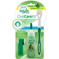 Tropiclean Freshbreathe Oral Care Kit For Dogs - Medium/Large