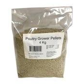 Peters Poultry Grower Pellet Bird Food - 4kg