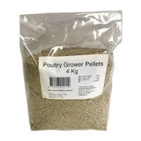 Peters Poultry Grower Pellet Bird Food - 4kg