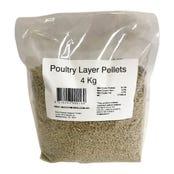 Peters Poultry Layer Pellet Bird Food - 4kg