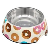 FuzzYard Go Nuts Donuts Dog Bowl - Medium