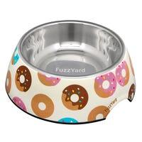 FuzzYard Go Nuts Donuts Dog Bowl - Large