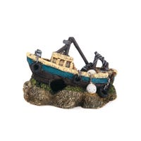 Kazoo Trawler Fish Tank Ornament - Mini