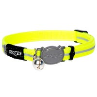 Rogz Alley Dayglo Cat Collar - XSmall