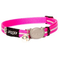 Rogz Alley Pink Cat Collar - Small