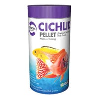 Pisces Cichlid Medium Sinking Pellets Fish Food - 210g