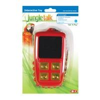 Jungle Talk Talk n Play Bird Toy - Large
