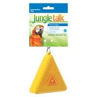 Jungle Talk Jukebox Music Bird Toy - Large