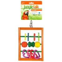 Jungle Talk Slide n Spin Bird Toy - Large