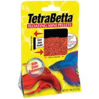 Tetra Betta Mini Pellets Fish Food - 4.5g