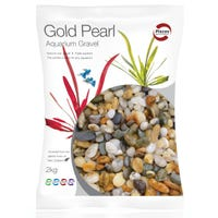 Pisces Natural Products Aquarium Gravel Gold Pearl - 2kg