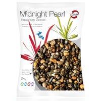 Pisces Natural Products Aquarium Gravel Midnight Pearl - 2kg