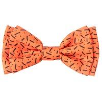 FuzzYard Bow Tie Orange - Large
