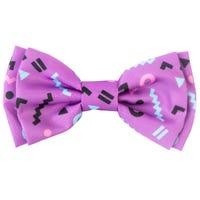 FuzzYard Bow Tie Purple - Large