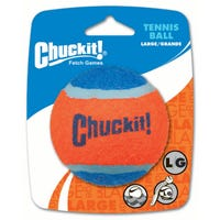 Chuckit Tennis Ball Dog Toy - Large