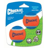 Chuckit Tennies Ball Small - 2pk