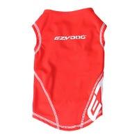 Ezy Dog Rashie 50+ UV Dog Rash Vest Red - Medium