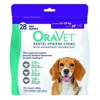 Oravet Dental Chew 11-23kg - 28 pack