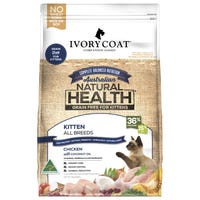 Ivory Coat Kitten Grain Free Chicken with Coconut Oil Dry Cat Food - 3kg