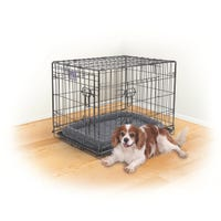 Kazoo Mobile Home Grey Dog Crate - Small