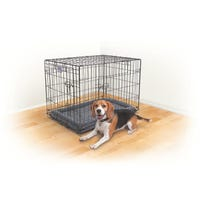 Kazoo Mobile Home Grey Dog Crate - Medium