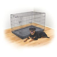 Kazoo Mobile Home Grey Dog Crate - XX Large
