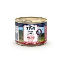 Ziwi Peak Cat Air Dried Grain Free Venison Recipe Wet Cat Food - 185g