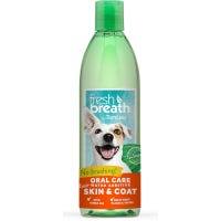 Tropiclean Freshbreath Oral Care Water Additive with Skin and Coat Support For Dogs - 473ml