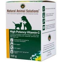 Natural Animal Solutions High Potency Vitamin C - 100g